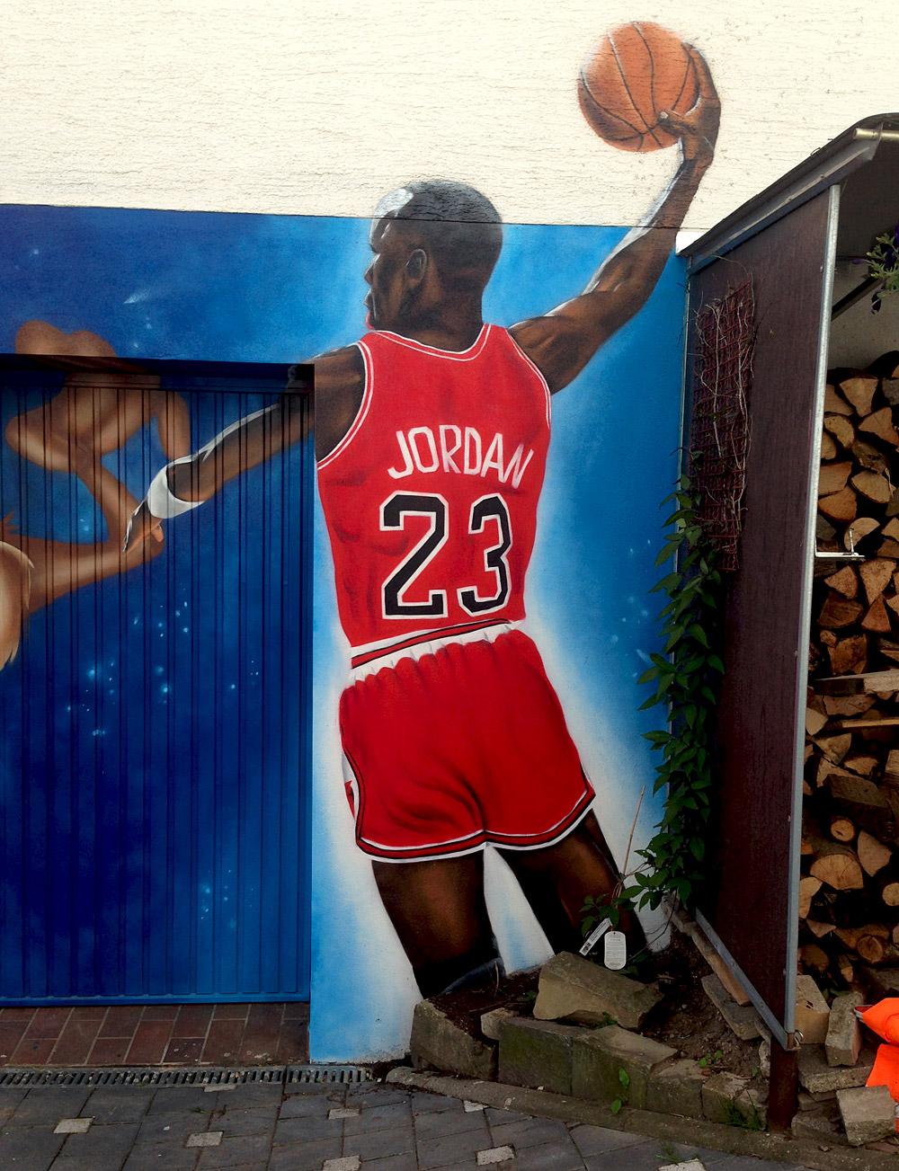 Graffiti Garagentor